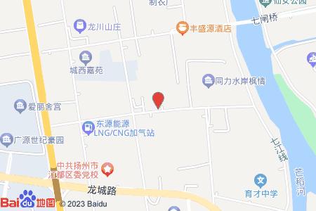 江都區進修附小地圖信息