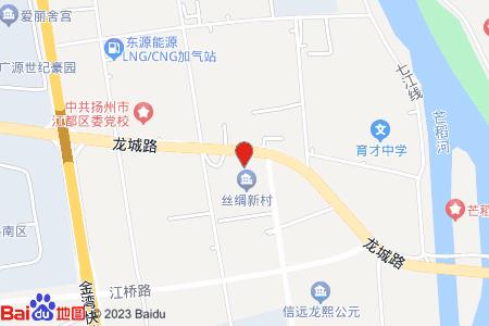 絲綢新村地圖信息