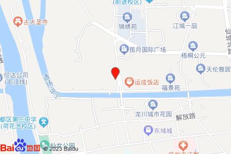 利民小区地图信息
