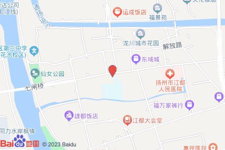 江都區實驗小學地圖信息