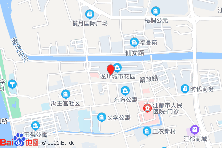 城市花园地图信息