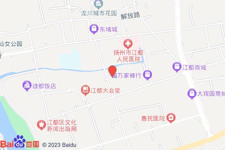 江都仙女鎮中心小學地圖信息