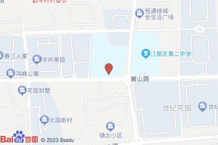 江都實驗小學新校區地圖信息