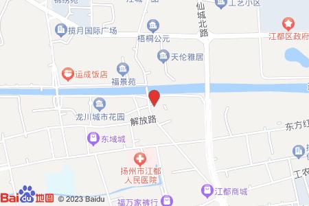 新月小区地图信息