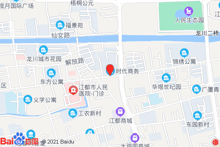 新时代广场地图信息