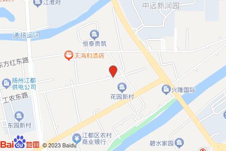 江都花園小學地圖信息