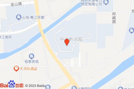 晟地潤園地圖信息