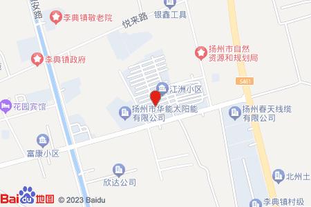江洲小區地圖信息