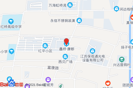 鑫桥康郡地图信息