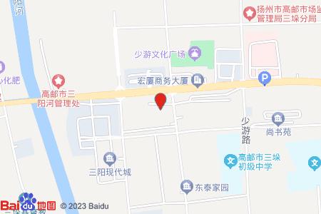 高郵新天地花苑地圖信息