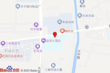 江都大桥中心小学地图信息