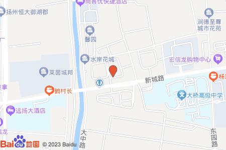 皇廷花苑地图信息