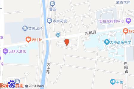 阳光新城地图信息