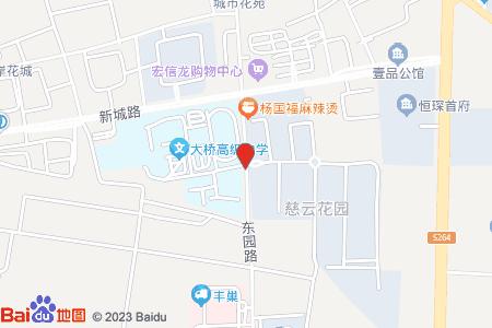 慈云花园地图信息