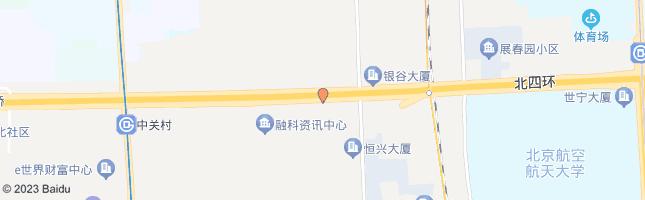北京保福寺桥西 公交站地图