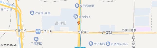 北京双井桥北 公交站地图