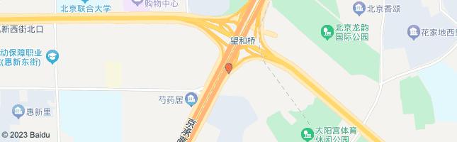 北京望和桥 公交站地图