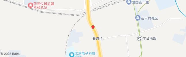北京看丹桥 公交站地图