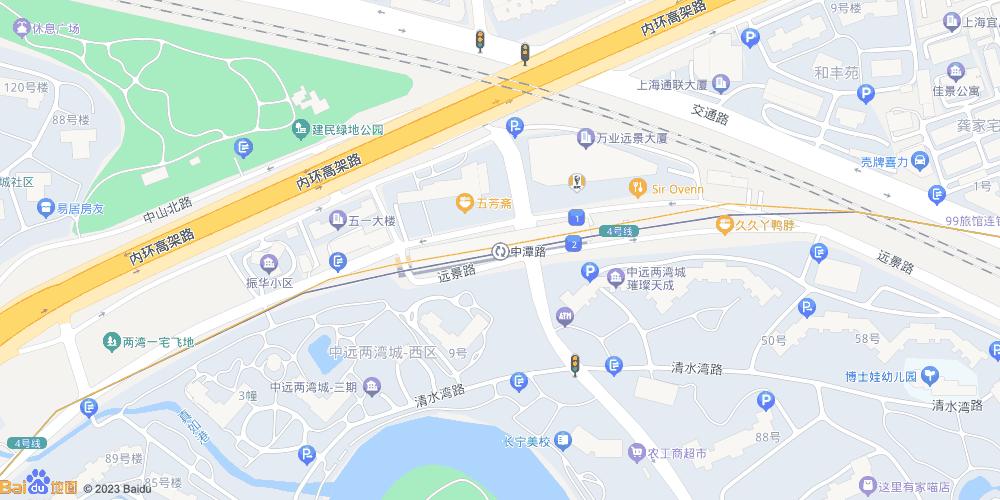 上海中潭路地铁站