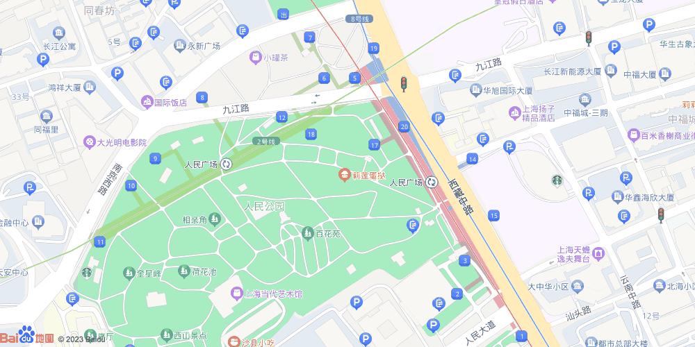 上海人民广场地铁站