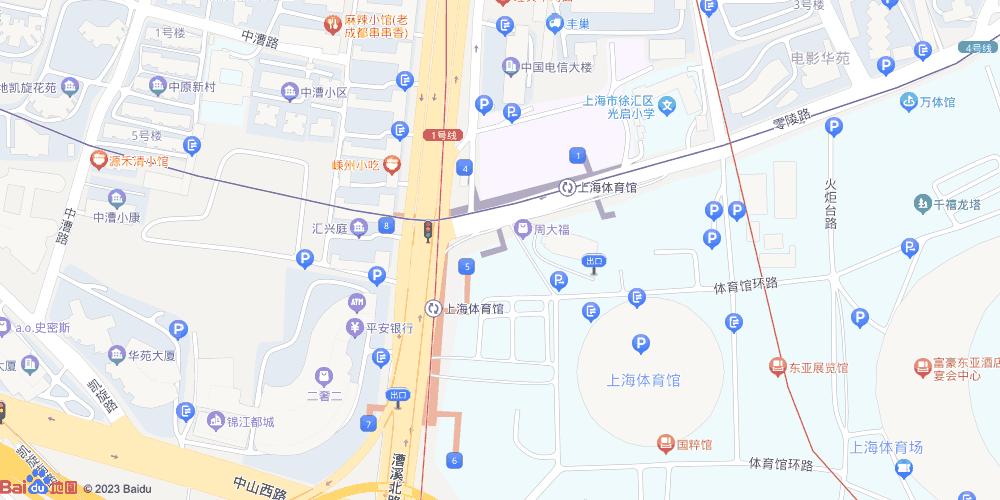 上海体育馆地铁站
