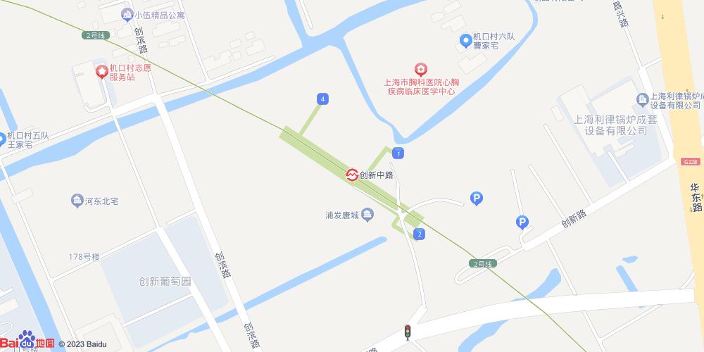 上海创新中路地铁站