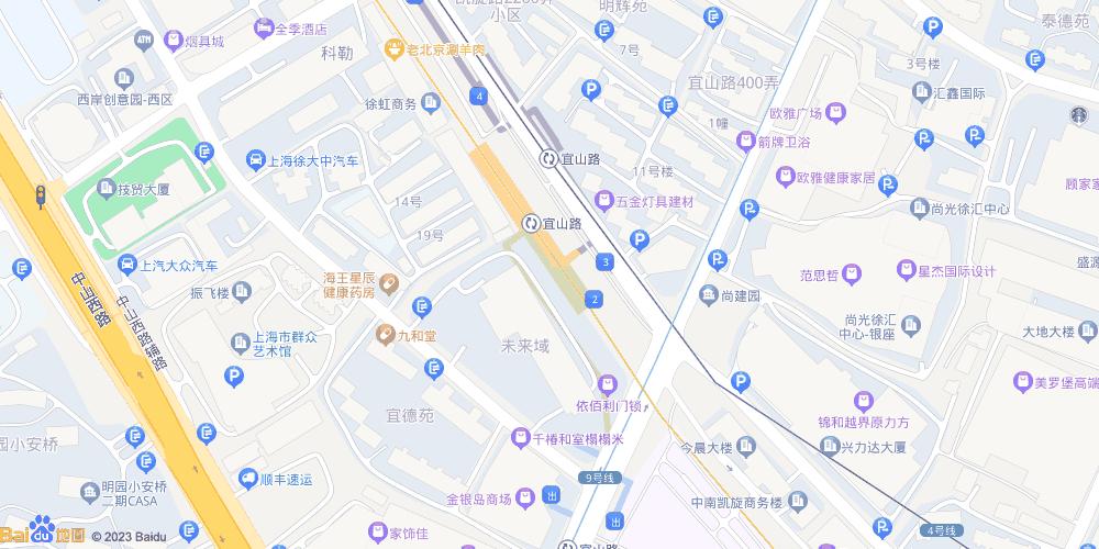 上海宜山路地铁站