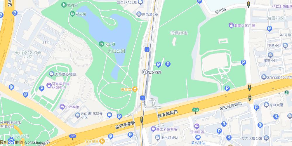 上海延安西路地铁站