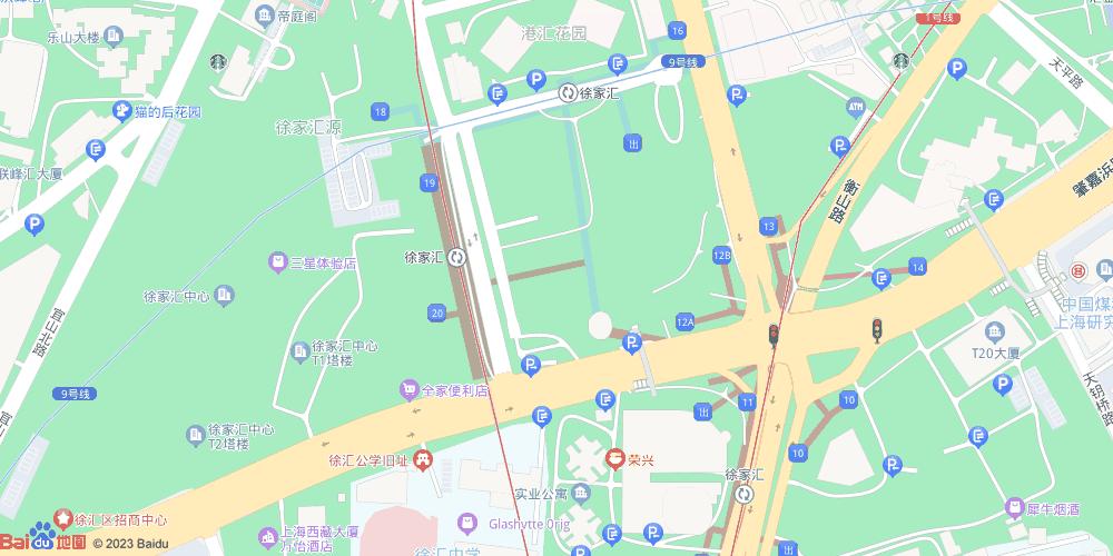 上海徐家汇地铁站