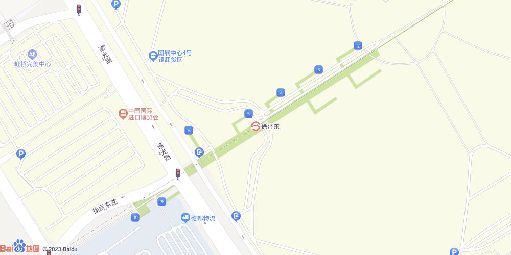 上海徐泾东地铁站