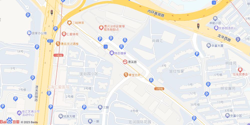 上海漕溪路地铁站