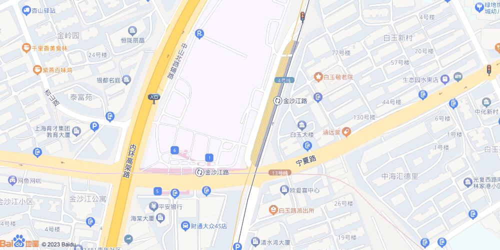 上海金沙江路地铁站