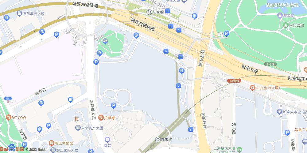 上海陆家嘴地铁站
