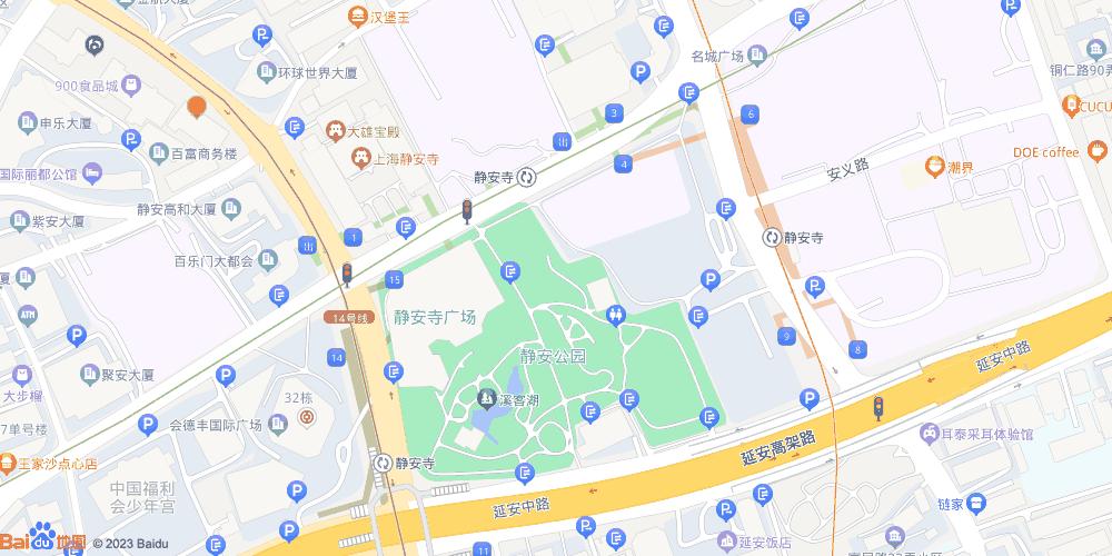 上海静安寺地铁站
