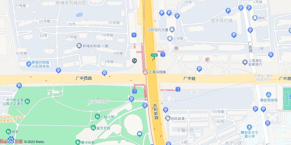 上海马戏城地铁站