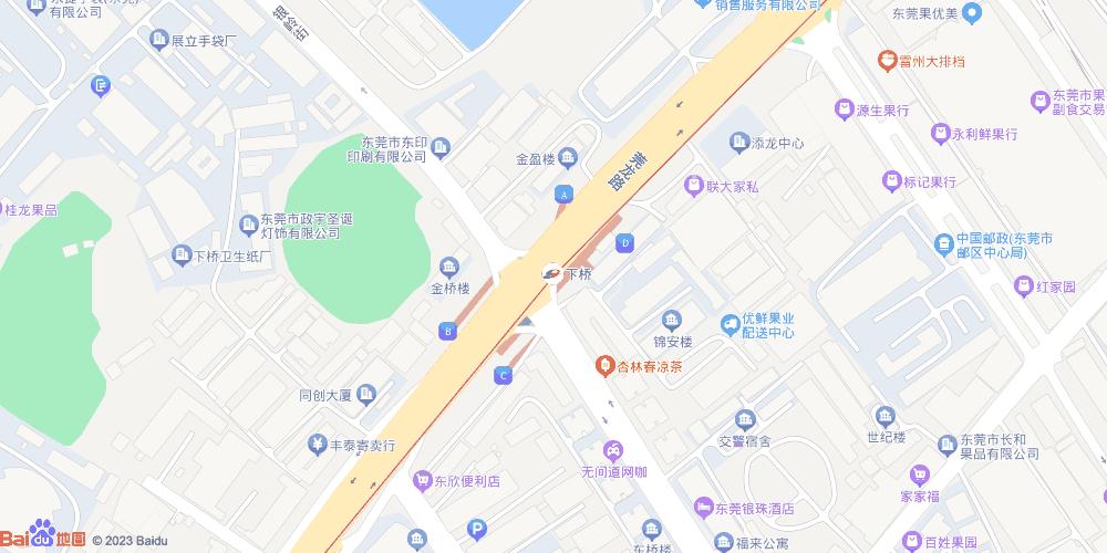 东莞下桥地铁站