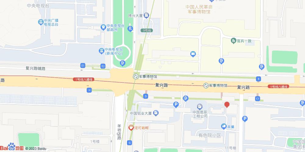 北京军事博物馆地铁站