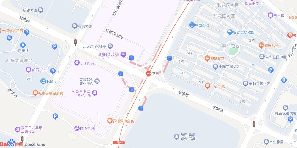 南昌卫东地铁站