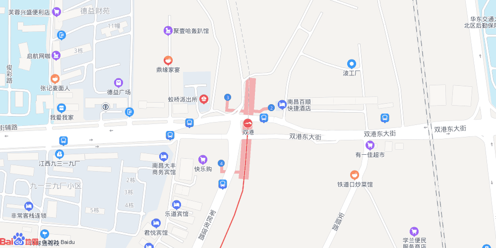 南昌双港地铁站