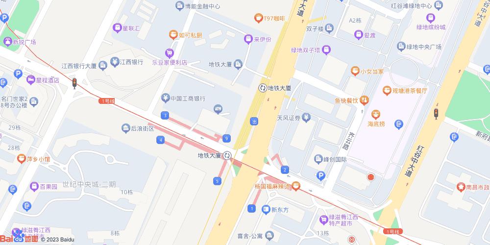南昌地铁大厦地铁站