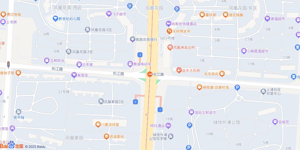 南昌长江路地铁站