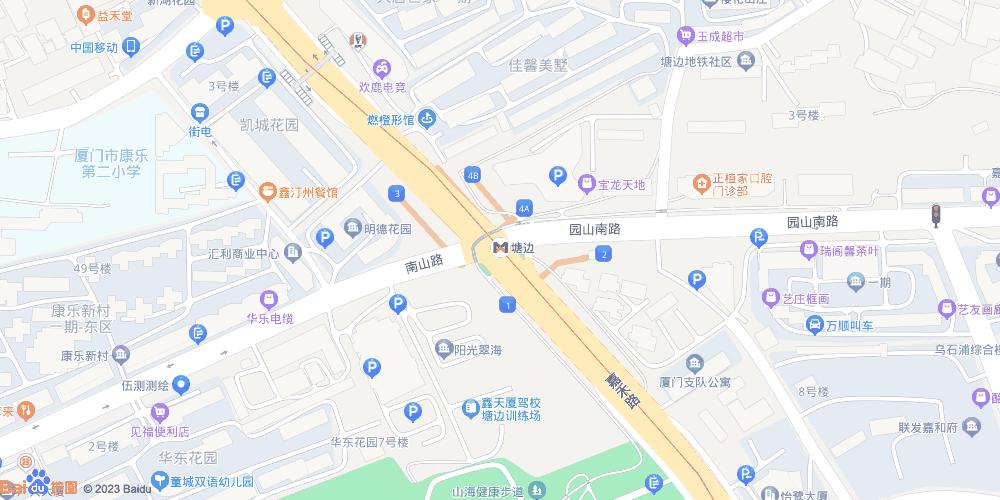 厦门塘边地铁站