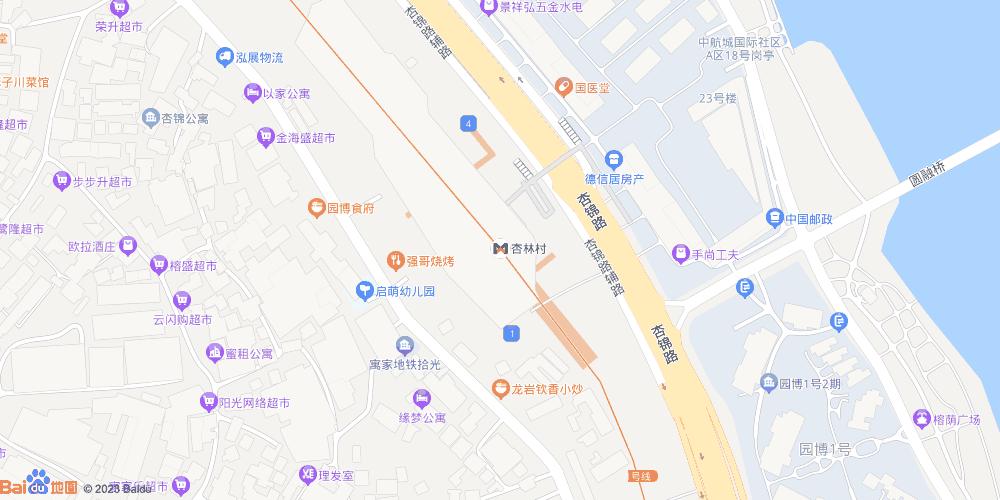 厦门杏林村地铁站