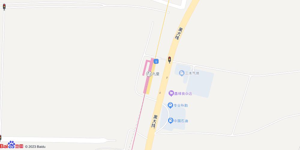 大连九里地铁站
