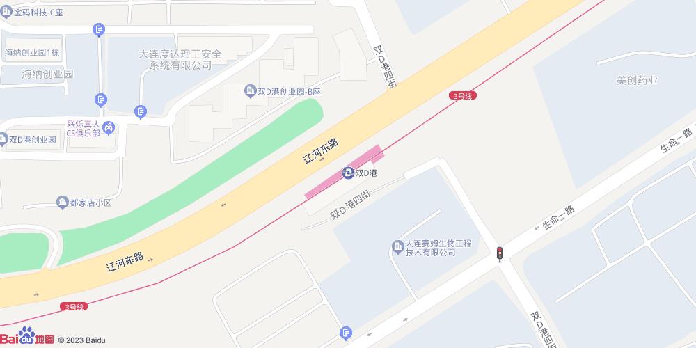 大连双D港地铁站