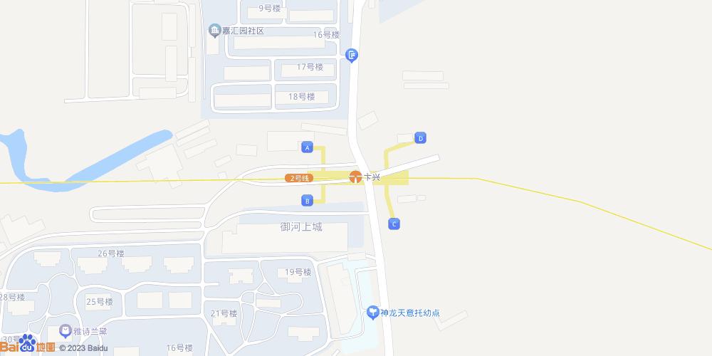 天津卞兴地铁站