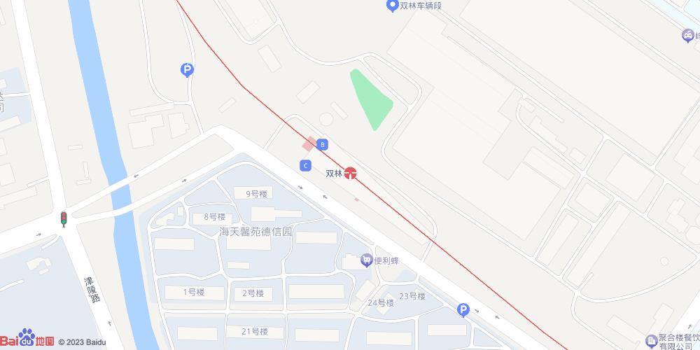 天津双林地铁站