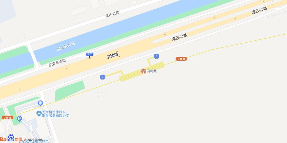 天津国山路地铁站