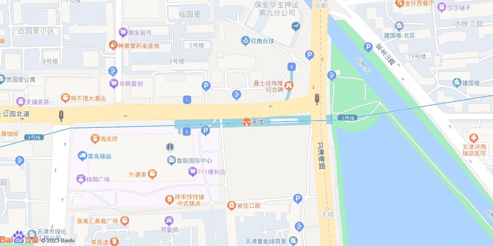 天津天塔地铁站
