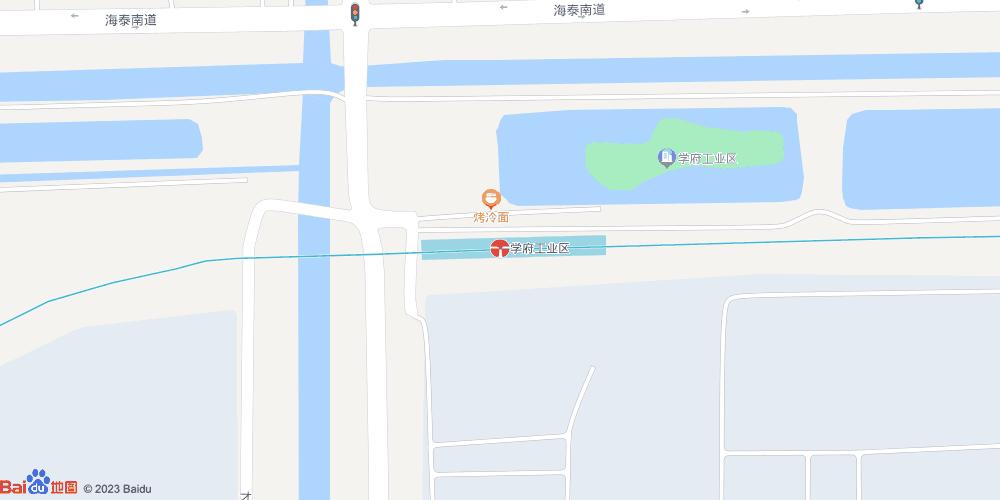 天津学府工业区地铁站